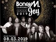 Les groupes Boney M et Joy se produiront à Hanoi en mars prochain