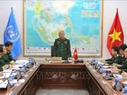 Maintien de la paix : le Vietnam prépare le déploiement d'une équipe du génie
