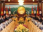 La presse laotienne salue les résultats de la visite du dirigeant vietnamien Nguyen Phu Trong