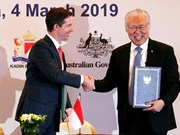Signature de l'Accord de partenariat économique global Indonésie - Australie