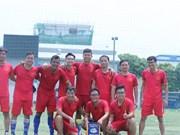 Le Vietnam remporte le tournoi amical de futsal Mékong - Lancang 2019