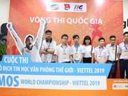 Qualification nationale du  Championnat du monde MOS - Viettel 2019
