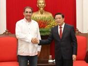 Intensification des liens entre PCV et l'Union nationale indépendante du Panama