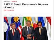 Le Jakarta Post salue les relations ASEAN-République de Corée