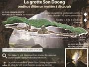 La grotte Son Doong continue d'être un mystère à découvrir