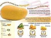 Exportation du premier lot de mangues fraîches vietnamiennes aux États-Unis