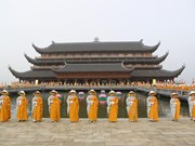 Bouddhisme : renforcement des échanges avec d'autres pays