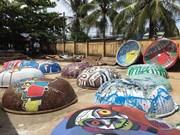 Des peintures uniques sur bateaux paniers