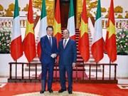 Vietnam-Italie : entretien entre les deux Premiers ministres