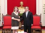 Le Vietnam étudie des expériences du VBF en matière de développement énergétique