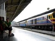 La Thaïlande rouvre une ligne ferroviaire reliant Bangkok et Sa Kaeo