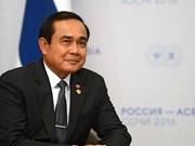 Le roi de Thaïlande approuve le nouveau gouvernement de Prayut