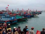 Sauvetage de 32 marins étrangers en détresse en mer