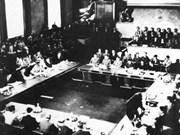 65e anniversaire de la signature des accords de Genève