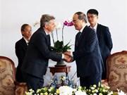 Le secrétaire national du Parti communiste français en visite à Ho Chi Minh-Ville