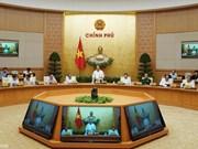 Le gouvernement tient sa réunion périodique à Hanoi