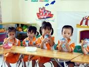Hanoï promeut le programme « Du lait à l'école » pour la période 2019-2020