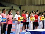 Ouverture du Championnat d'Asie de taekwondo élargi à Ho Chi Minh-Ville