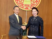 Activités de la présidente de l'Assemblée nationale Nguyen Thi Kim Ngan en Thaïlande
