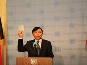 Le Vietnam entame sa présidence du Conseil de sécurité de l'ONU en janvier 2020