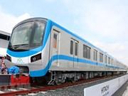 L'accueil de la première rame de la ligne de métro No1 de Ho Chi Minh-Ville