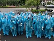 Des étudiants en médecine à Ho Chi Minh-Ville se joignent au combat contre le COVID-19