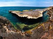 Beauté sauvage de la réserve mondiale de biosphère de Nui Chua