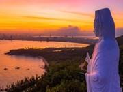 Un aperçu du Centre Vietnam vu d'en haut