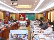 La Commission du contrôle du Comité central du Parti tient sa 31e réunion
