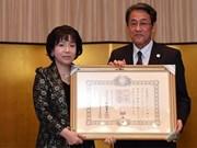 Une académicienne vietnamienne primée de l'Ordre du Soleil levant du Japon