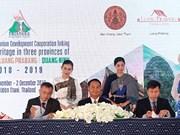 Luang Prabang , Udon Thani et Quang Ninh : un triangle de patrimoines mondiaux