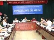 2019 sera l'année décisive pour la réforme administrative de HCM-Ville