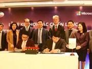 Viettel et Microsoft coopèrent pour promouvoir la transformation numérique au Vietnam