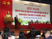 Le vice-PM Truong Hoa Binh dirige les travaux religieux pour 2019