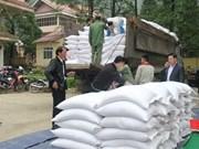 L'aide de 7 800 tonnes de riz à plus de 520 000 personnes démunies avant le Têt