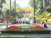 Plus d'un million de visiteurs à la Fête des fleurs du printemps de HCM-Ville