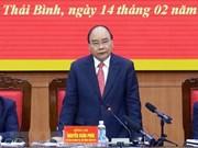Le Premier ministre salue les réalisations socio-économiques de Thai Binh