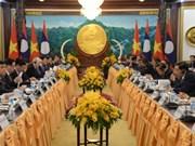 La déclaration commune Vietnam-Laos souligne l'amitié grandiose
