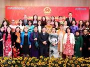 Rencontre d'amitié entre femmes étrangères et vietnamiennes