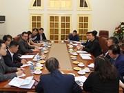 L'OIT souhaite soutenir le développement durable de la Sécurité sociale du Vietnam