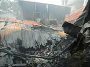 Huit morts et disparus dans un incendie à Hanoï