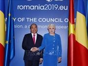 Déclaration commune Vietnam - Roumanie