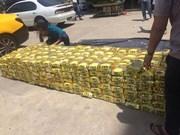 La police de HCM-Ville saisit plus d'une tonne de méthamphétamine