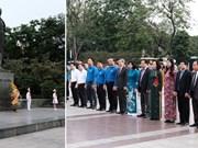 Les responsables de Hanoi rendent hommage à Lénine à l'occasion de son anniversaire