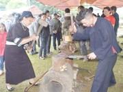 Les forgerons Nùng An de Cao Bang