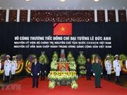 Cérémonie commémorative à la mémoire de l'ancien président Lê Duc Anh