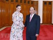 Le PM Nguyen Xuan Phuc reçoit la princesse héritière suédoise