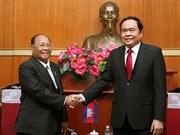 Vietnam et Cambodge consolident les relations d'amitié et de bon voisinage