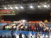 France: Ouverture de la coupe du monde des arts martiaux traditionnels vietnamiens à Marseille
