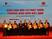 14 contrats signés au forum sur le développement de la marque maritime du Vietnam à Bac Lieu